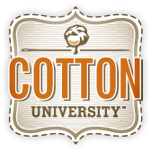 cotton-university-badge