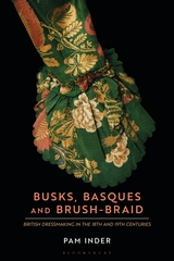 book cover: the cuff of an 18th C green silk gown cut in scallops from a fitted sleeve.