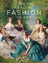 book cover: a group of elaborately dressed women of the 19th C in brightly colored hooped dresses sit ina circle and talk.